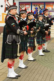 Bagpipers Royalty Free Stock Photos