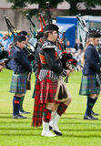 Bagpipers stock images
