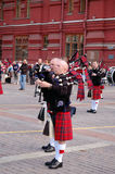 Bagpipers Stock Foto