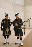 Bagpipers from NYPD Emerald Society in New York Royalty Free Stock Photos