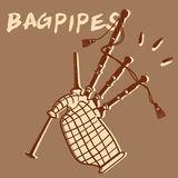 bagpipes Fotos de Stock Royalty Free