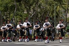 Bagpipes Stock Image
