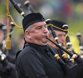Bagpipes - giochi dell'altopiano - la Scozia Immagini Stock Libere da Diritti