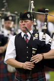 Bagpipes - Highland Games - Scotland Stock Photo