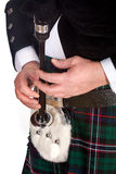 Bagpipes and sporran Stock Photography