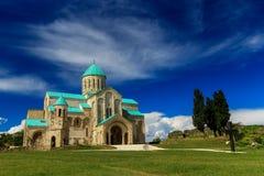 Bagrati大教堂,库塔伊西,乔治亚 免版税库存照片