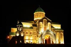 Bagrati大教堂,库塔伊西,乔治亚 库存图片