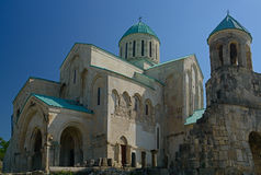 Bagrati Cathedral against blue sky background Stock Photo