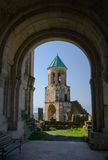 Bagrati Cathedral bell-tower. Through arch entrance. Georgia, Kutaisi Stock Image