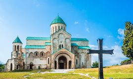 Bagrati Cathedral - Cathedral of the Dormition - in Kutaisi, Georgia royalty free stock photography