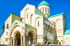 Bagrati Cathedral - Cathedral of the Dormition - in Kutaisi, Georgia stock image