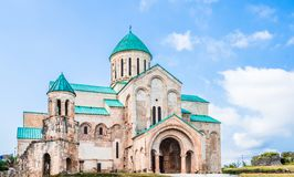 Bagrati Cathedral - Cathedral of the Dormition - in Kutaisi, Georgia royalty free stock photos