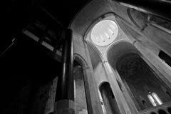Bagrati Cathedral, Interior. Interior of Bagrati Cathedral, Kutaisi, Georgia stock images