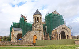 Bagrati Cathedral under construction in Kutaisi, Georgia Stock Photos