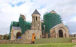 Bagrati-Kathedrale im Bau in Kutaisi, Georgia stockfotos