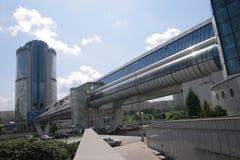Bagration Brücke, Geschäfts-Architektur Stockbilder