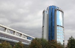 Bagration business center in Moscow Stock Photos