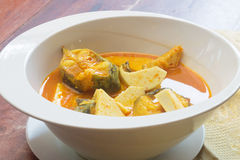Bagrid catfish sour soup Royalty Free Stock Photos