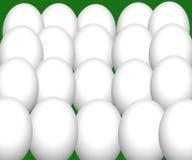 baground鸡蛋 免版税库存图片
