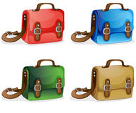 Bags. Illustration of bags on a white background vector illustration