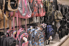 Bags and backpacks Stock Photos