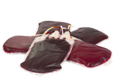Bags of blood Royalty Free Stock Photo