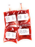 Bags of blood Royalty Free Stock Photography