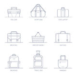 Bags and Boxes Royalty Free Stock Photography