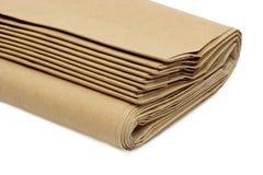 bags brunt papper arkivbild