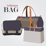 Bags collection set Stock Images