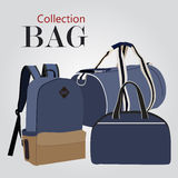 Bags collection set Stock Image