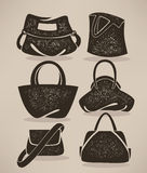 Bags collection Stock Image