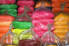 Bags of color Royalty Free Stock Photo