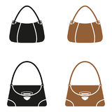 Bags2. Different types of fashion bags Stock Images