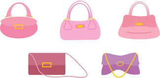 Bags female Royalty Free Stock Photo