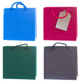 Bags with gift Royalty Free Stock Image