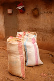 Bags Of Grain Royalty Free Stock Images