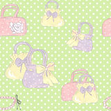 Bags hand-drawn. Stock Image