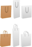 Bags paper icon Royalty Free Stock Photo