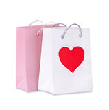 Bags with purchases Stock Images
