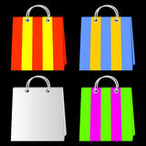 Bags for purchases. Stock Photos