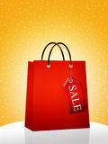 Bags for sale Royalty Free Stock Images