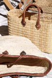 Bags for sale Malaga Spain Royalty Free Stock Photos