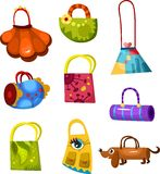 Bags set Stock Photos