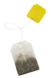 bags tea arkivfoton