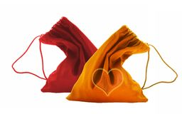 Bags Valentine's day Royalty Free Stock Photos