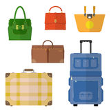 Bags vector set Royalty Free Stock Images