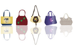 Bags for woman Royalty Free Stock Photo