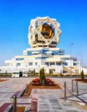 Bagt Kösgi. & x28;palace of happiness& x29;, Ashgabat Turkmenistan stock images