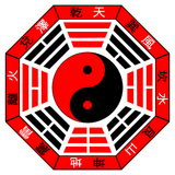 bagua κινέζικα Στοκ φωτογραφία με δικαίωμα ελεύθερης χρήσης